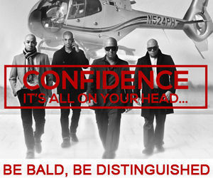 Be-Bald-Be-Distinguished